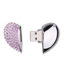 Heart Shape USB Pen Drive 16GB (Pink)
