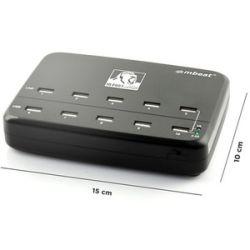 mbeat Gorillia Power 60W 10-Port USB Charging USB Hub