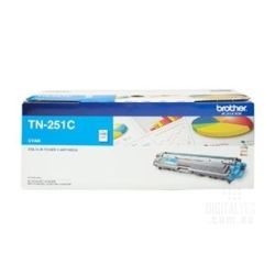 Brother TN-251C Cyan Toner Cartridge to Suit HL-3150CDN/3170CDW/MFC-9140CDN/9330CDW/9340CDW (1400 Pages)