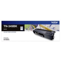 Brother TN-349BK Super High Yield Black Toner Cartridge (6K) for HL-L9200CDW MFC-L9550CDW - GENUINE