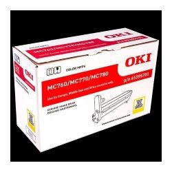 Oki EP Cartridge (Drum) for MC770/ 780 Yellow, 30000 Drum, AVE. Number of A4 Pages Printed