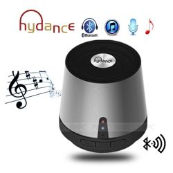 Hydance Maxi Sound MP3 Player with Mini Bluetooth Speaker and Power Bank - Silver