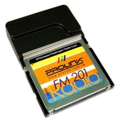 Prolink CFFM201 PROLINK FM201 Compact Flash Radio Card