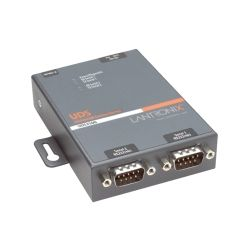 Lantronix 2-Port 10/100 Device Server, RoHs compliant