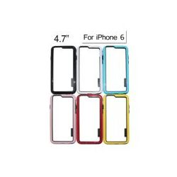 Bumper for 4.7 inch Apple iPhone 6 (Black/White/Blue/Red/Pink/Yellow)