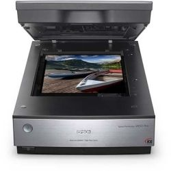 Epson V800 Perfection Photo CCD, Dual Lens, High Res. Scan F/Wire, 4.0 DMAX, Transparency