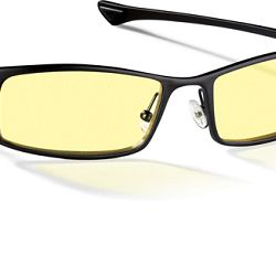 Gunnar Phenom Amber Onyx Indoor Digital Eyewear