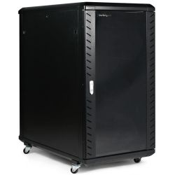 StarTech 22U 36in Knock-Down Server Rack Cabinet with Casters