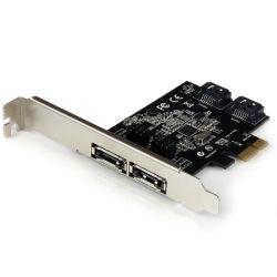 StarTech 2-Port PCI Express SATA 6 Gbps eSATA Controller Card - Dual Port PCIe SATA III Card - 2 Int/2 Ext