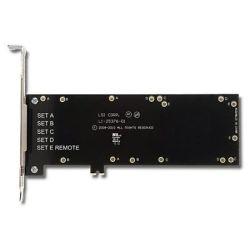 Supermicro Intelligent Battery backup Module on LSI 9260/9280 and 9750 series, RC-LSI00260 + BBU-Bracket-05