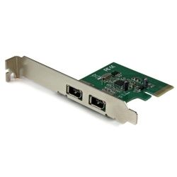 StarTech 2-Port 1394a PCI Express FireWire Card - PCIe FireWire Adapter