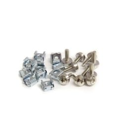 StarTech 50 Pkg M5 Mounting Screws and Cage Nuts for Server Rack Cabinet