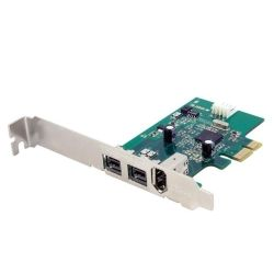 StarTech 3-Port 2b 1a 1394 PCI Express FireWire Card Adapter