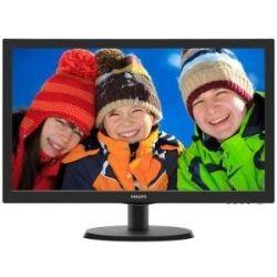 Philips 223V5LHSB2 21.5 inch LED Monitor - 1920x1080, 16:9, VGA/HDMI, Tilt/Stand, VESA Computer Components