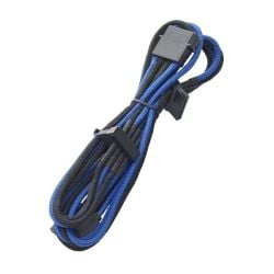 BitFenix Blue and Black 20cm 4-Pin Molex To 4x SATA Power Splitter Cable