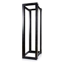 StarTech 45U 3300lb High Capacity 4 Post Open Server Equipment Rack - Flat Pack