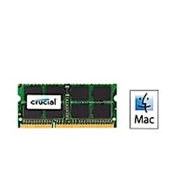 Crucial DDR3 SODIMM PC10600-4GB 1066Mhz CL9 Notebook Memory for Mac