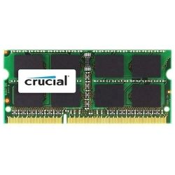 Crucial DDR3 SODIMM PC10600-4GB 1066Mhz CL9 204-Pin 1.35V/1/5V Notebook Memory for Mac