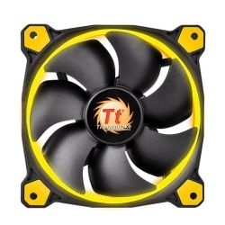 Thermaltake Riing 12 High Static Pressure Yellow LED Radiator Fan