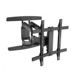 Brateck New Full-motion Wall Mount Bracket for most 32-65 Curved and Flat Panel TVs