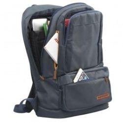 Promate Drake Premium Backpack w/Multiple Storage Options - Black