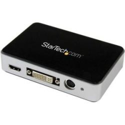 StarTech USB 3.0 Video Capture Device - HDMI/DVI/VGA/Component HD Video Recorder - 1080p 60fps