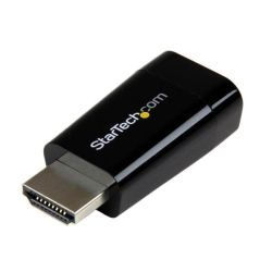 StarTech Compact HDMI to VGA Adapter Converter - Ideal for ChromeBooks Ultrabooks & Laptops 1920x1200/1080p