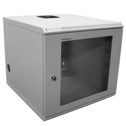 StarTech 10U 19 inch Wall Mounted Server Rack Cabinet