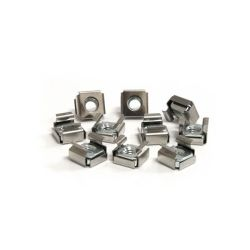 StarTech 50 Pkg M6 Cage Nuts for Server Rack Cabinet