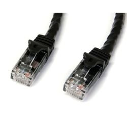 StarTech Cat6 Patch Cable with Snagless RJ45 Connectors - 3m - Black