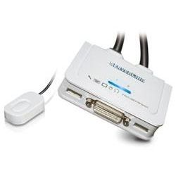 ServerLink 2-Port Cable KVM with QuickSwitch - DVI/USB with Audio - Supports 1920x1200