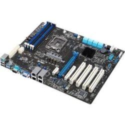 Asus P10S-V/4L Motherboard - Socket 1151, Intel C236, 4x DDR4, 1x PCIe3.0 x16, 4x PCI, 8x SATA3, VGA, ATX, 4x Intel LAN