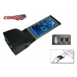Condor USB & IEEE1394 Exp Card