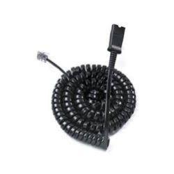 Plantronics [PT-3809901] Reverse Polaris Cable U10P-S, COIL, QD to Male MOD. PLUG, U10P-S for Cisco 7911/12