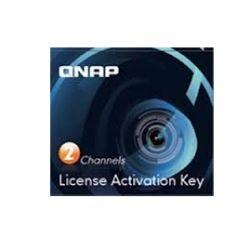 Qnap LIC-CAM-NAS-2CH Qnap - 2 License activation keys for Surveillance Station Pro to suite TS-x69 Pro, TS-x69L, TS-x69U series