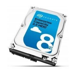 Seagate 8TB Enterprise Capacity Hard Disk Drive HDD - 3.5 inch, SAS 6Gb/s (512e)