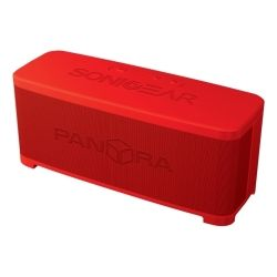SonicGear Pandora 3R Red Portable Bluetooth Speaker w/ Mic for Hands Free Calling
