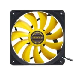 Reeven Coldwing 12cm Silent 800rpm 3-Pin (Molex Adapter Included) Fan
