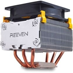 Reeven Arcziel Top Flow CPU Cooler, 9cm PWM Fan