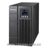 CyberPower Online Series 2000VA/1600W (10A) Tower Online UPS - (OLS2000E) -3yr Adv Replacement Warranty 2yr Int. Batteries