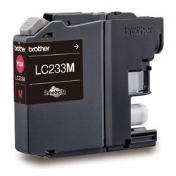 Brother LC233 Magenta Ink Cart Up to 550 pages