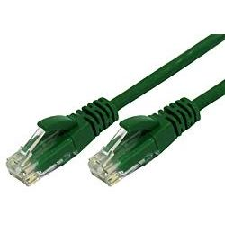 50cm RJ45 Cat 6 Patch Cable - Green