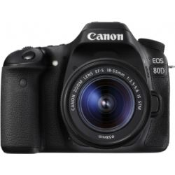 Canon 80DKIS EOS 80D Single Kit with EFS18-55S