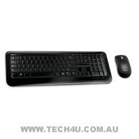 Microsoft 800 Series Keyboard + Optical Mouse - Wireless