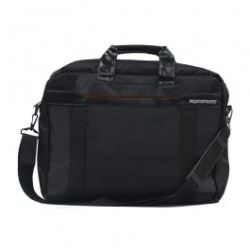 Promate Solo Lightweight Messenger Bag with Front Storage Option for Laptops up to 15.6 inch