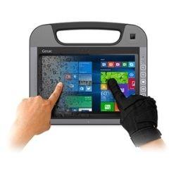 Getac 10.1 inch FHD Tablet PC - Intel Core M-5Y10C Processor, HD Webcam, 4GB RAM, Multi-touch TS, 128GB SSD, Hot-swappable Battery x 1, Win10 Pro 64bi