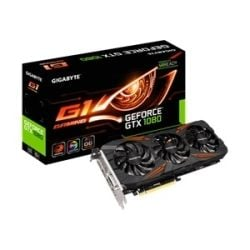 Gigabyte NVIDIA GeForce GTX 1080 G1 Gaming Video Graphics Card Computer Components