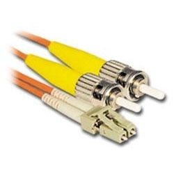 1m LC-ST Multi-Mode Duplex Fibre Patch Cable LSZH 62.5/125 OM1