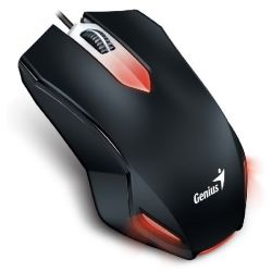 Genius GX-200 USB Red LED Gaming Mouse