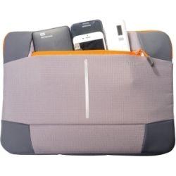 Targus 14 inch Bex II Sleeve - Grey/Orange